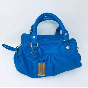 Marc Jacobs Electric Blue Shoulder Handbag